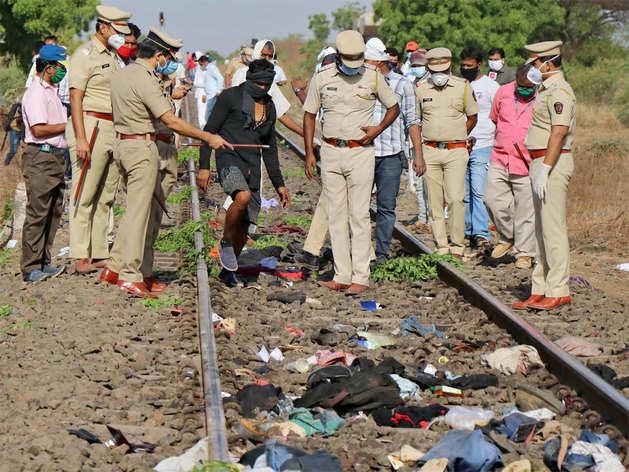aurangabad rail hadsa news, aurangabad rail hadsa video ...