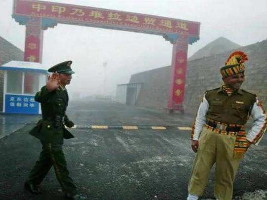 india china soldiers face off along sikkim border