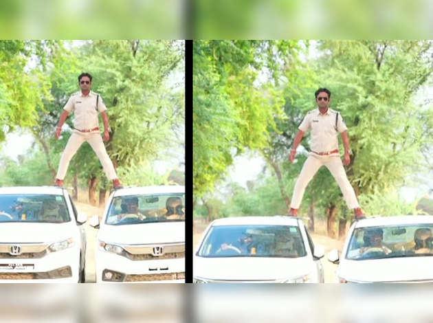 मध्य प्रदेश: सब-इंस्पेक्टर ने अजय देवगन का स्टंट सीन किया, मिला कारण बताओ नोटिस