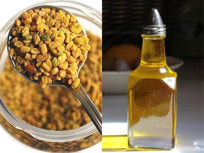 beauty skin tips homemade remedies fenugreek powder mask to get long hair diy in marathi