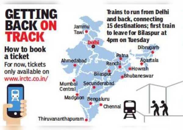 दिल्ली से जुड़ेंगे 15 शहर