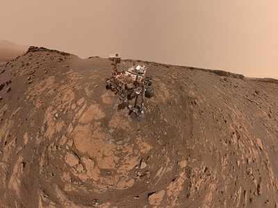मंगल ग्रह की सतह