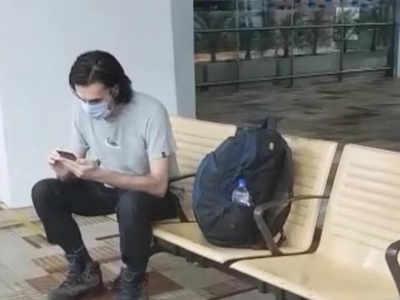 दिल्ली एयरपोर्ट पर फंस गया था जर्मनी का नागरिक