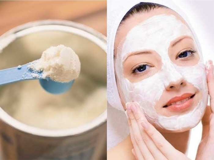 milk powder face pack to treat skin issues and get a clear and glowing skin