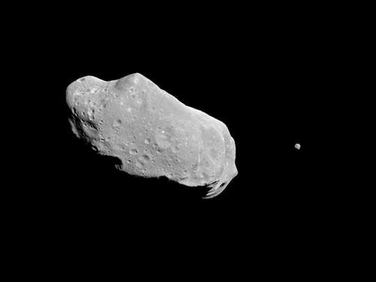 243 Ida और उसका चांद Dactyl