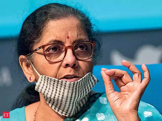 nirmala sitharaman announced 5.94 lakh crore benefits, decreasing pf rate to tds, tcs cut