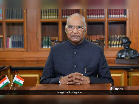 President Ram Nath Kovind To Forgo 30% Salary For A Year Over Coronavirus Crisis