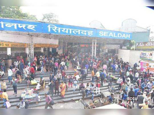 Indian railway is worried to run local trains under social distancing norms
