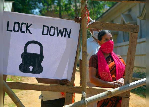 भारत में 69 दिनों का लॉकडाउन