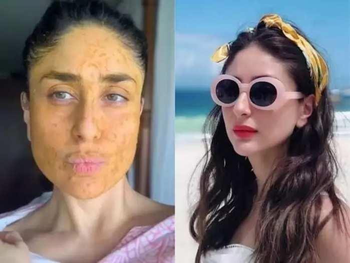 homemade face pack tips kareena kapoor shared glowing skin secrets in marathi
