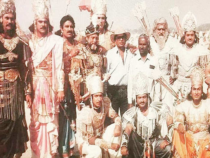 br chopra mahabharat actors per episode shocking fees many worked for free
