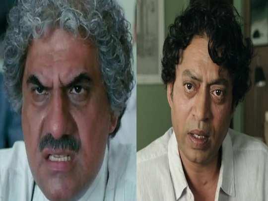 Boman Irani and Irrfan Khan