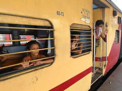 बिहार आने वाली श्रमिक स्पेशल ट्रेनें।