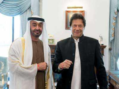 अबू धाबी क्राउन प्रिंस के साथ इमरान खान (फाइल फोटो)