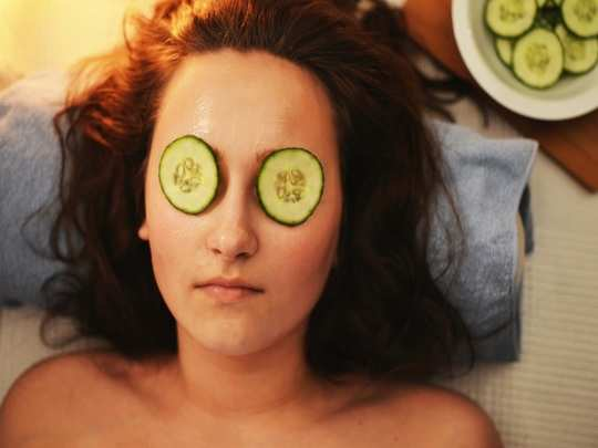 cucumber face mask in hindi