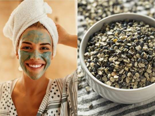 skin care urad dal face packs to exfoliate fight acne and brighten skin effectively