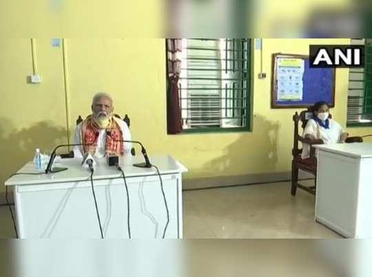 பிரதமர் மோடியுடன் முதல்வர் மம்தா பானர்ஜி