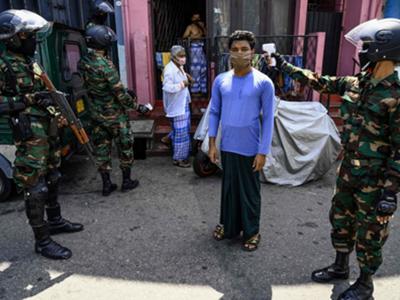 श्रीलंका में जारी है कोरोना वायरस का कहर