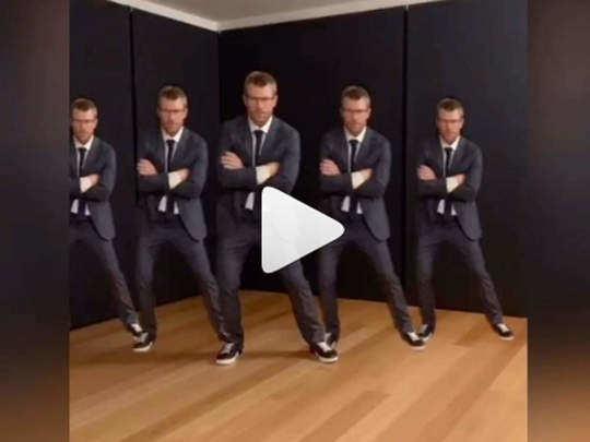 वॉर्नरने एका गाण्यावर जबरदस्त डान्स केला असून त्याचा व्हिडीओ चांगलाच व्हायरल झाला आहे.