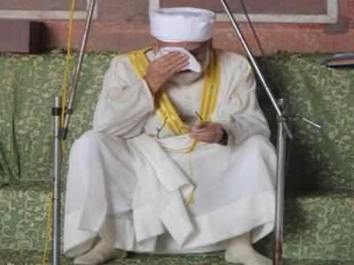 जामा मस्जिद के शाही इमाम सैयद अहमद बुखारी।
