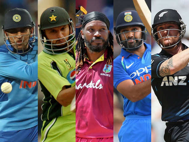 ये हैं अंतरराष्ट्रीय क्रिकेट में सबसे ज्यादा सिक्स लगाने वाले बल्लेबाज