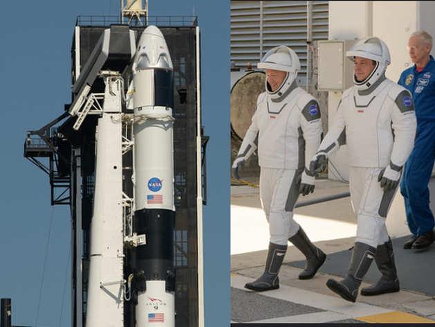 ऐतिहासिक कदम की ओर NASA: रिहर्सल पूरी, SpaceX के Falcon 9 लॉन्च का इंतजार