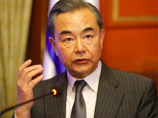 चीनी विदेश मंत्री वॉन्ग यी