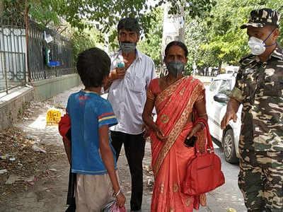 पटना से दिल्ली पहुंचे बच्चे के मां-बाप