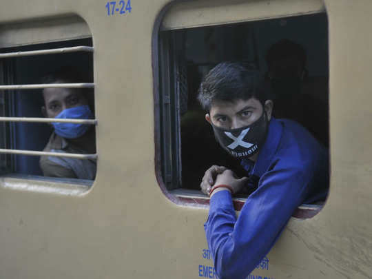 राज्य सरकारों की गुजारिश पर चली स्पेशल ट्रेन