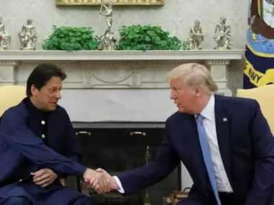 राष्ट्रपति ट्रंप और इमरान खान