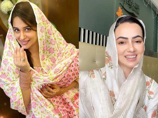 dipika kakar to sana khan shaheer sheikh tv celebs eid celebration and wishes during lockdown