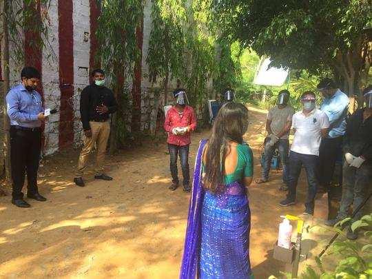 ಮುಂಜಾಗ್ರತಾ ಕ್ರಮಗಳೊಂದಿಗೆ ಟಿವಿ ಧಾರಾವಾಹಿ ಚಿತ್ರೀಕರಣ ಆರಂಭ