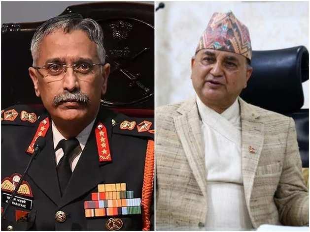भारतीय सेना प्रमुख और नेपाली रक्षा मंत्री