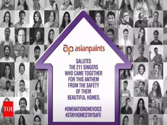 एक देश एक आवाज: एशियन पेंटची पीएम केअर फंडाला मदत
