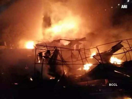 Major fire incidents in Delhi; factory, 250 huts gutted