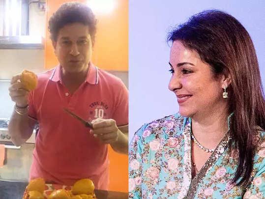 Sachin-Tendulkar-And-Wife-A