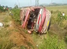 several migrants are injured in andhra pradesh bus accident