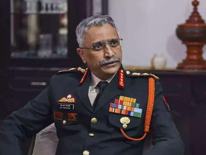 सेना प्रमुख जनरल एमएम नरवणे