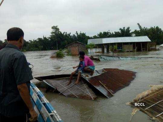 Flood alert in Assam