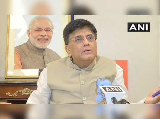 Piyush Goyal Railway Minister