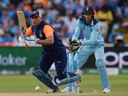 MS Dhoni vs England in 2019 WC