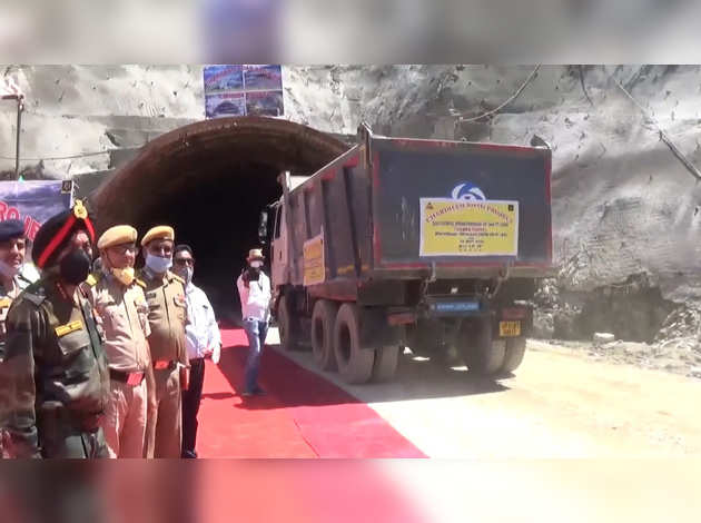 Chardham Project: BRO's Big Achievement, Completion of Tunneling in Chamba