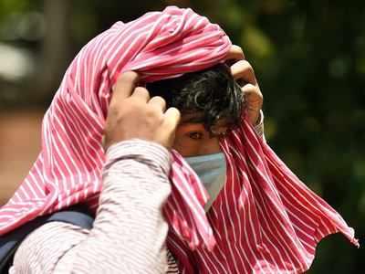दिल्ली में गर्मी ने तोड़ा 18 साल का रेकॉर्ड।