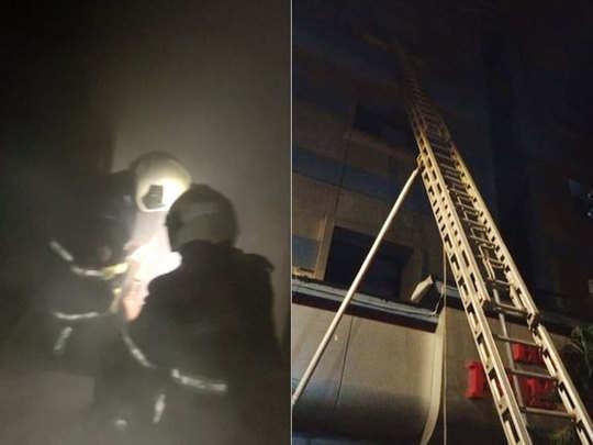 दक्षिण मुंबईत हॉटेलमध्ये आग