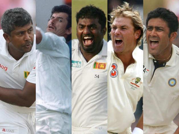 टेस्ट क्रिकेट में सबसे ज्यादा बार पारी में पांच विकेट लेने वाले गेंदबाज
