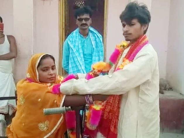 जरा हटके है यह लव स्टोरी! सीता-नीतीश ने रचाई शादी तो बनी इलाके की सुर्खियां