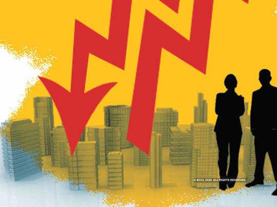 भारताचा विकासदर ५ टक्क्यांनी घसरणार