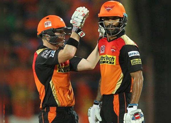 ऐसी रही हैदराबाद की पारी, बनाए 208 रन