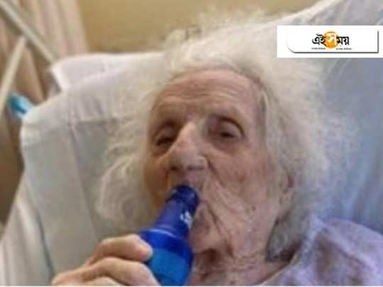 after recovering from coronavirus, this 103 year old Massachusetts woman celebrates with chilled beer