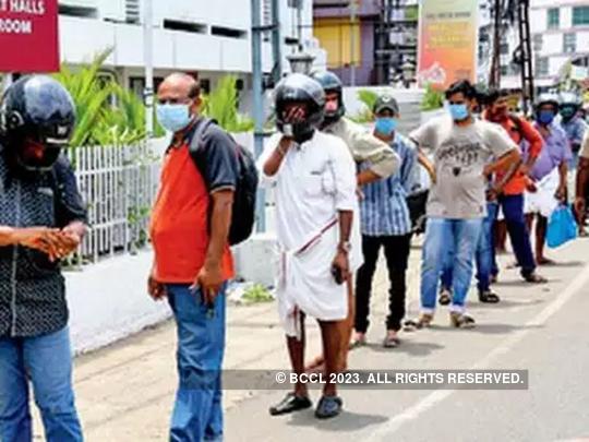 Kerala: quarantine unit & booze shop under same roof